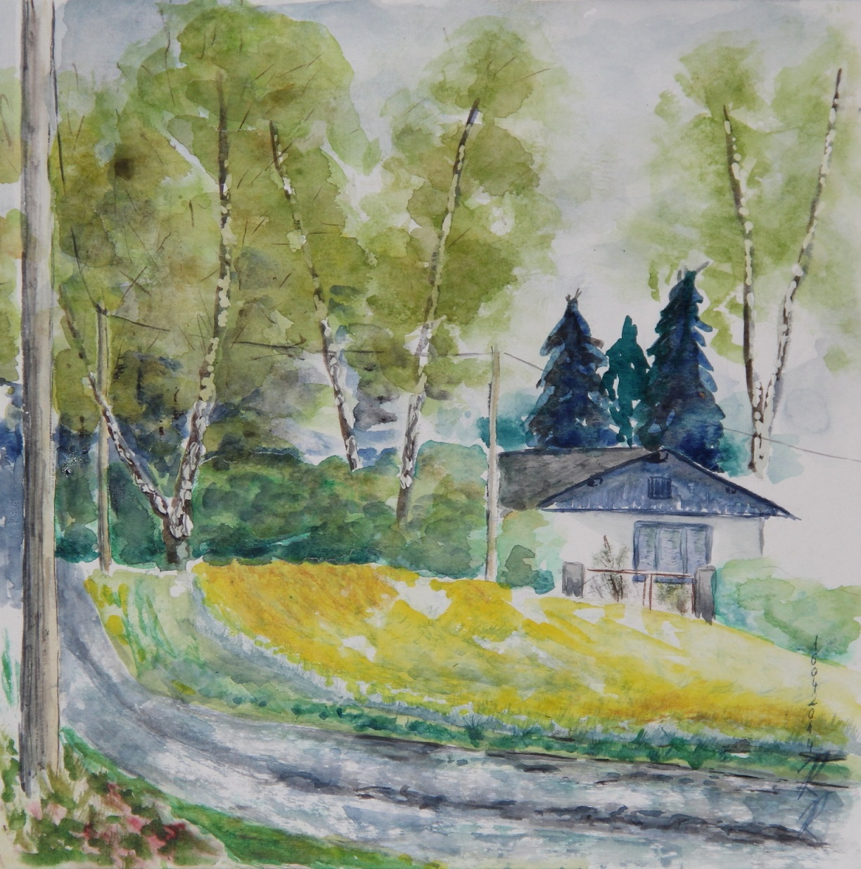 Info Zum Workshop Aquarell Malen Plein Air Reinhold Rippert Zeichnungen Bilder Skulpturen